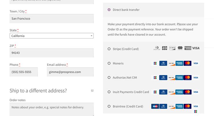 Robot Ninja payment gateways