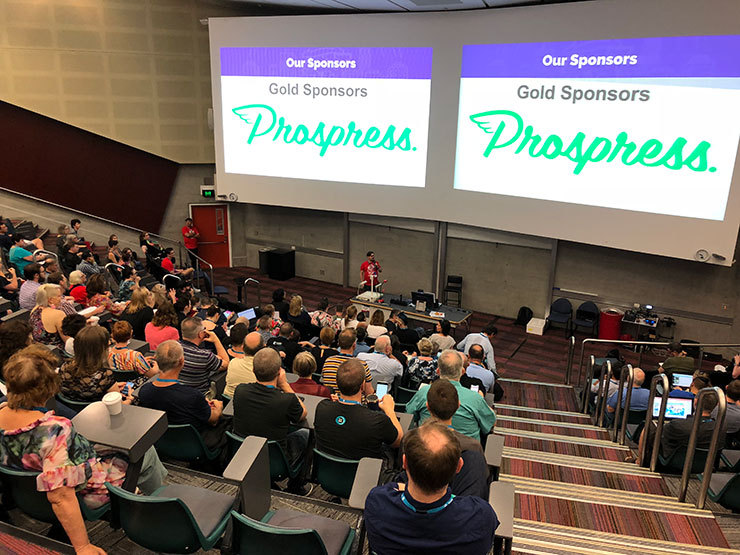 Prospress was a gold sponsor of WordCamp Brisbane 2018.